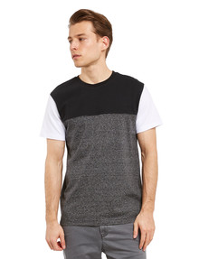 Tarnish Boardwalk Tee, Black & White product photo