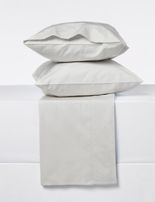 Sheridan 300 Thread Count Organic Cotton Sheet Set, Dove product photo