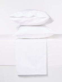 Sheridan 300 Thread Count Organic Cotton Sheet Set, Snow product photo