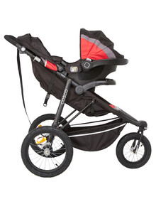 Cosco All Terrain Travel System, Red/Black product photo