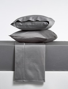 Domani Puro 500TC Sheet Set, Charcoal product photo