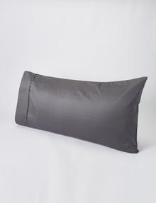 Domani Puro Lodge Pillowcase, Charcoal product photo