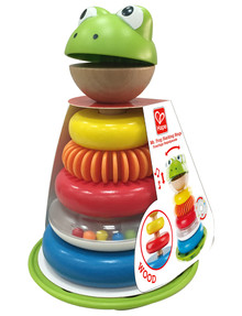 Hape Mr Frog Stacking Rings product photo