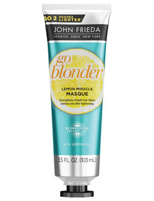 John Frieda Haircare Go Blonde Lemon Miracle Masque product photo