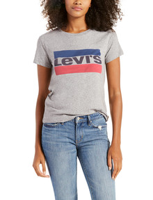Levis Perfect Tee, Smokestack product photo