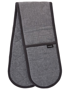 Ladelle Eco Double Oven Glove, Grey product photo