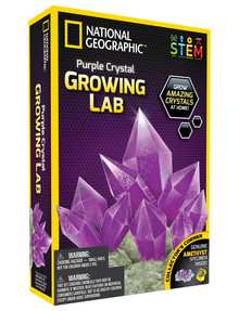 National Geographic Purple Crystal Growing Lab product photo