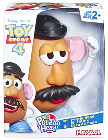 4 Mr and Mrs Potato Head, Assorted product photo