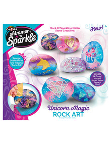 3D Shimmer & Sparkle Unicorn Magic Rock Art product photo