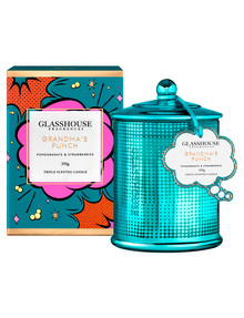 Glasshouse Triple Scented Candle 350g, Grandma's Punch product photo