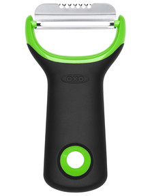 Oxo Good Grips Citrus Peeler, Green product photo