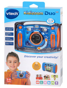 Vtech Kidizoom Duo 5.0 Digital Camera, Blue product photo