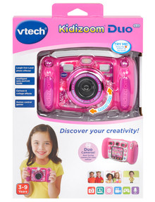 Vtech Kidizoom Duo 5.0 Digital Camera, Pink product photo