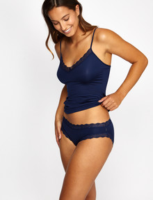 Jockey Woman Parisienne Vintage Bikini, Deep Navy product photo