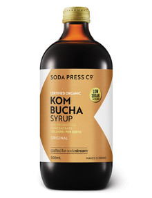 Soda Press Organic Soda Syrup, Kombucha product photo
