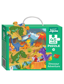 Junior Jigsaw Junior Jigsaw Small, Dinosaur Adventure product photo