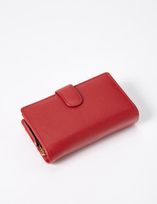Carte Tab & Dome Wallet, Tango Red product photo