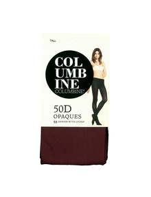 Columbine COLU Tight Soft Opaque 50D Burgundy product photo