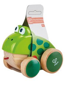 Hape Frog Pull Along product photo