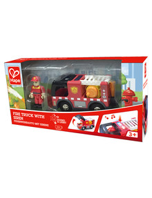 Hape Fire Truck With Siren product photo