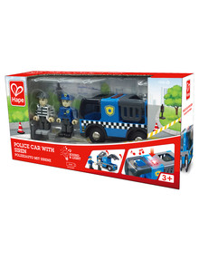 Hape Police Car With Siren product photo
