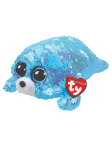 Ty Beanies Sequin Flippable Waves Seal product photo