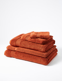 Domani Sorrento Towel Range, Clay product photo