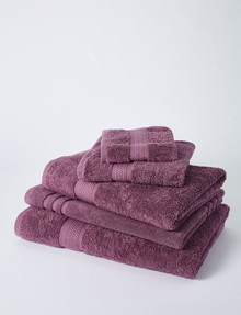 Linen House Linen House Newport Towel Range, Purple product photo