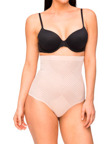 Nancy Ganz Body Perfection High Waisted Brief, Nude product photo
