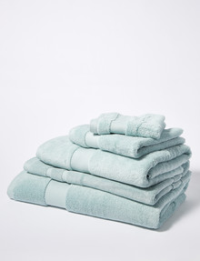 Linen House Linen House Luna Towel Range, Duckegg product photo