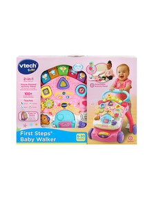 Vtech First Steps Baby Walker, Pink product photo