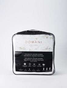 Domani Clip-Together Goose Down & Feather Duvet Inner product photo