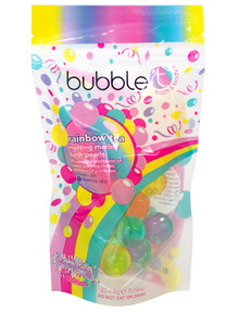Bubble T Rainbow Melting Marble Bath Pearls product photo