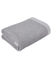 Kate Reed Waffle Blanket Small, Grey product photo