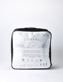 Domani Clip-Together Duck Down & Feather Duvet Inner product photo