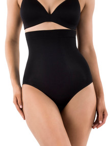 Ambra Powerlites High Waisted Brief, Black product photo