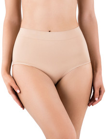 Ambra Powerlites Full Brief, Rose Beige product photo