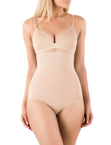Ambra Powerlites High Waisted Brief, Rose Beige product photo