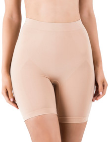 Ambra Powerlites Thigh Shaper Shorts, Rose Beige product photo