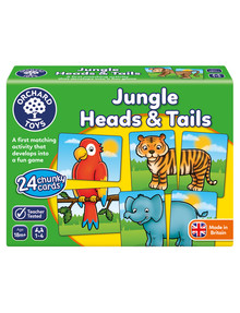Orchard Toys Jungle Heads & Tails Game product photo
