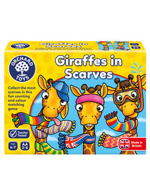 Orchard Toys Giraffes in Scarves Game product photo
