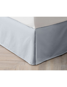 Sheridan Organic Cotton 300 Threat Count Valance, Snow product photo
