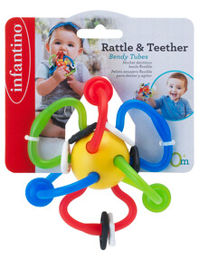 Infantino Shake & Teethe Flexi Ball product photo