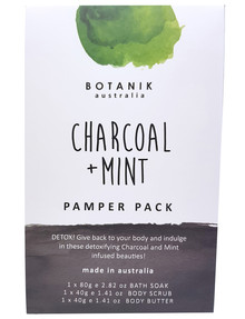 Organik Botanik Aust Pamper Pack, Charcoal & Mint product photo