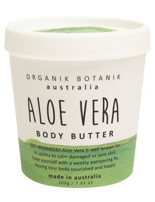 Organik Botanik Aust Body Butter, Aloe Vera 200g product photo