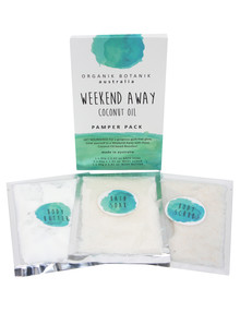 Organik Botanik Aust Weekend Away Body Pamper Pack, Coconut Oil product photo