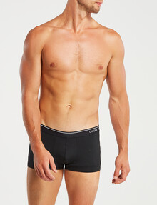 Calvin Klein Micro Low-Rise Trunk, Black, Size S product photo