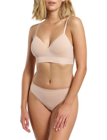 Ambra Bondi Bare Longline Padded Bra, Rose Beige product photo