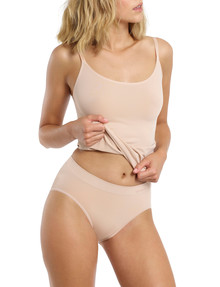 Ambra Bondi Bare High-Cut Brief, Rose Beige product photo