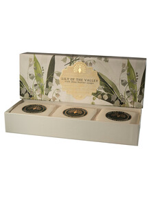 Lily Of The Valley Trio Soap Set product photo